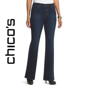 Chico's Platinum Collection Flare Jeans (NWT)